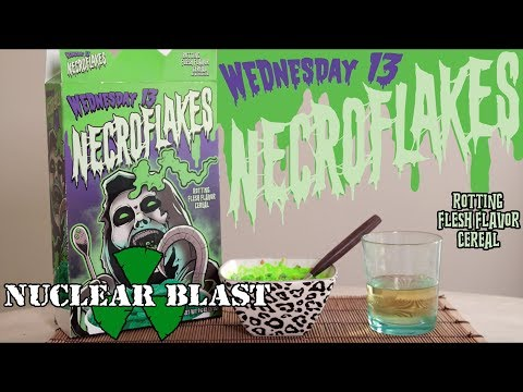 WEDNESDAY 13 - Necroflakes Cereal Commercial (OFFICIAL TRAILER)