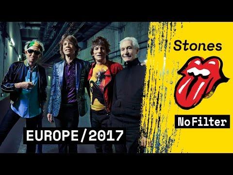 THE ROLLING STONES 2017 für 3 Konzerte in Deutschland