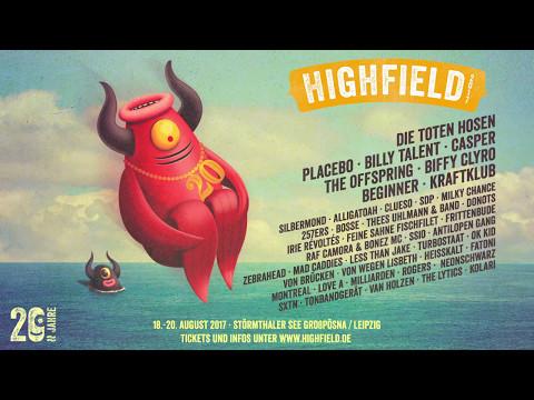Highfield Festival 2017   Trailer
