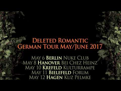 The Red Paintings 'Deleted Romantic' German Tour May/June 2017