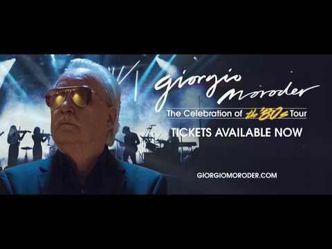 Giorgio Moroder - The Celebration of the '80s Tour 2019 - Trailer