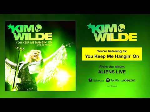 """Kim Wilde """"You Keep Me Hangin' On"""" (Live) Song Stream - """"Aliens Live"""" OUT NOW!"""