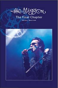 "THE MISSION veröffentlichen Live-DVD ""The Final Chapter"""
