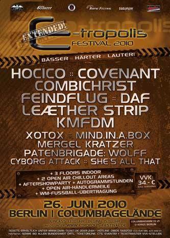 Preview : E-tropolis Festival 2010