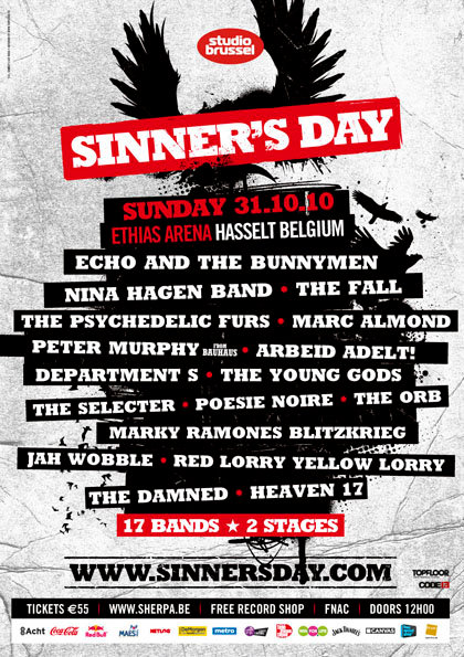 Preview : Sinner's Day Festival 2010