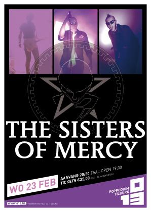 Gewinnspiel: THE SISTERS OF MERCY Karten für das Konzert in NL- Tilburg zu gewinnen