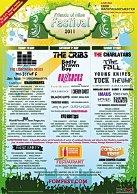 Preview : Friends Of Mine Festival 2011
