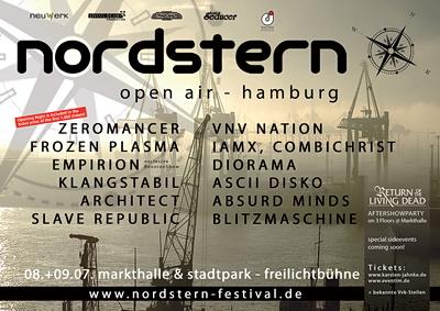 Mit IAMX ist das Lineup des NORDSTERN FESTIVALS 2011 komplett! Jetzt schnell Karten sichern!