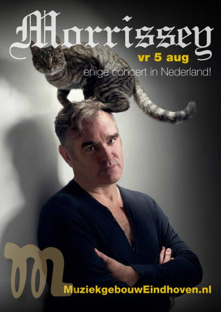 THE SMITHS Frontmann MORRISSEY kommt am 5.8. zum einzigen Konzert in den Niederlanden nach Eindhoven