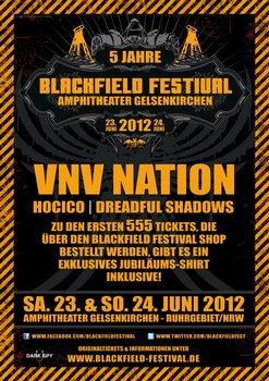 Erste Bands für das BLACKFIELD FESTIVAL 2012 bekannt gegeben!