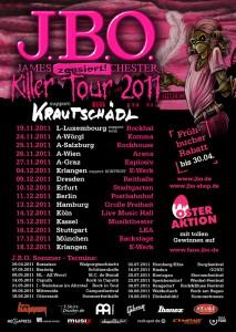 J.B.O. sind im Dezember 2011 auf Deutschlandtour