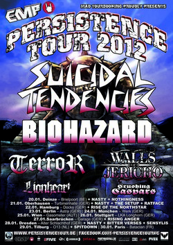 Preview : Persistence Tour 2012