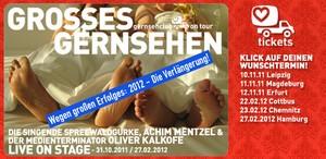 GERNSEHCLUB -Tour mit OLIVER KALKOFE und ACHIM MENZEL geht in die Verlängerung