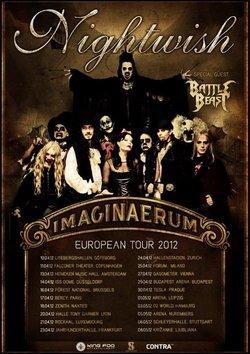 """Preview - NIGHTWISH Tour zum neuen Album """"Imaginaerum"""" startet im Frühling"""