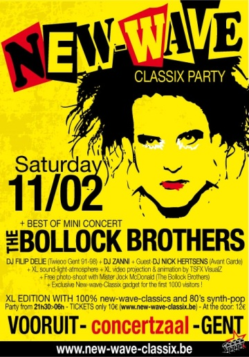 Preview : NEW-WAVE-CLASSIX Party XL am 11.02.2012 in Gent