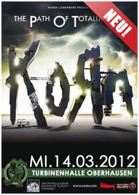 Preview : KORN rocken im März gemeinsam mit THE DIRTY YOUTH Oberhausen und Offenbach