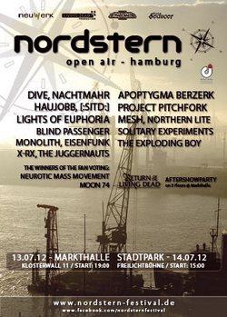 Das Line Up vom NORDSTERN FESTIVAL 2012 ist vollständig!