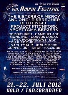 AMPHI FESTIVAL 2012 - FLA sagen ab, HENKE spielt GOETHES ERBEN und CONJURE ONE sagen zu