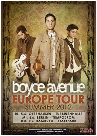 Preview : Erfolg dank Myspace - BOYCE AVENUE kommen im Juni nach Deutschland