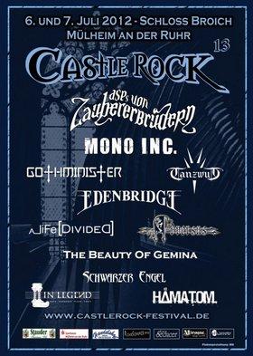 Preview : Das CASTLE ROCK 2012 präsentiert (nicht nur) Zauberbrüder und tanzwütige Legenden
