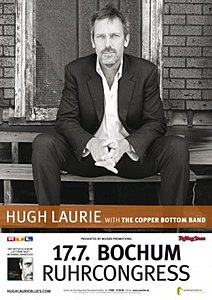 HUGH LAURIE (Dr. House) & THE COPPER BOTTOM BAND - Bochum, RuhrCongress (17.07.2012)