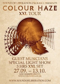 Preview : XXL-Shows von COLOUR HAZE ab Ende September