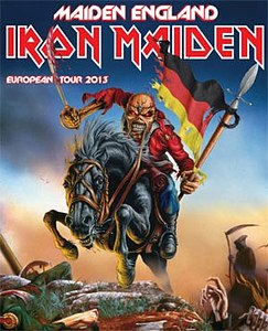 Preview : IRON MAIDEN Europatour im Sommer 2013, Termin am 06.07.2013 in Oberhausen