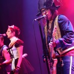 ADAM ANT & GEORGIE GIRL AND HER POUSSEZ POSSE - NL- Roermond, ECI Cultuurfabriek (08.12.2012)