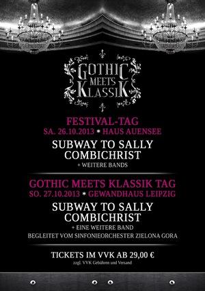 COMBICHRIST u.a. mit Orchester (!) auf dem 2. Gothic Meets Klassik Festival!