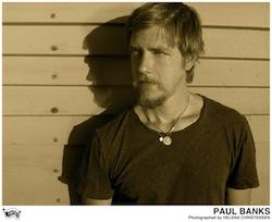 Preview : PAUL BANKS, die Stimme von INTERPOL mit Soloprojekt auf Tour in 2013