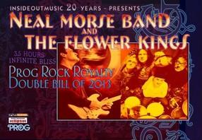 Preview : Insideout Music feiert Jubiläum mit Prog-Rock Tour von NEAL MORSE und THE FLOWER KINGS