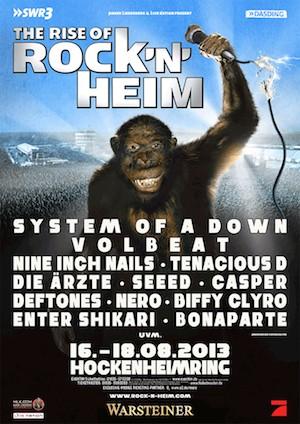 Neues Festival der Superlative: ROCK'n'HEIM startet 2013 mit starken Line-up