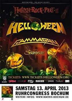"""Preview : HELLOWEEN gehen gemeinsam mit GAMMA RAY auf """"Hellish Rock Tour Part II"""""""