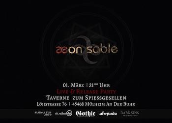 Preview : AEON SABLE stellen am 01.03.2013 ihre neue CD live in Mülheim an der Ruhr vor