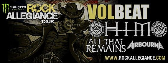Preview : Die MONSTER ENERGY'S ROCK ALLEGIANCE TOUR rockt die USA im Sommer 2013
