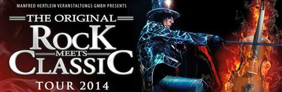 Preview : ROCK MEETS CLASSIC 2014 mit ALICE COOPER, KIM WILDE, MIDGE URE uvm