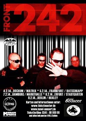 FRONT 242 gehen im Februar 2014 auf Deutschlandtour!