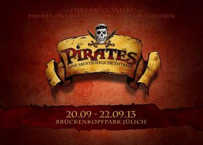 Preview : Großes Piratenspektakel PIRATES am Wochenende in Jülich
