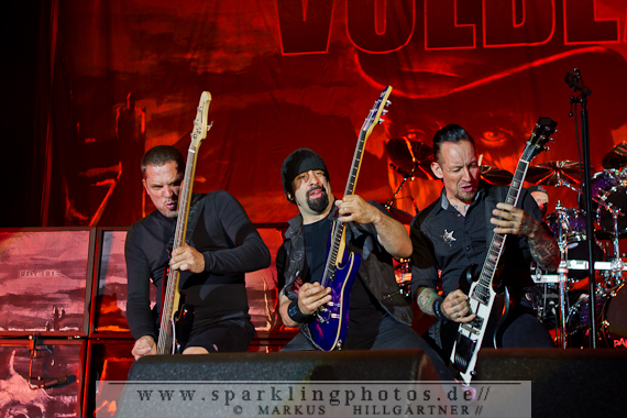 Preview : Dänenpower on Tour - VOLBEAT rocken Deutschland im November 2013
