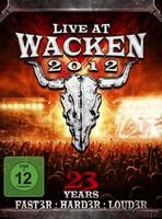 LIVE AT WACKEN 2012 - Die größte Metal-Party der Welt auf 3DVD/2CD!