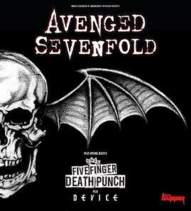 Preview : AVENGED SEVENFOLD touren mit True Metal durch die Republik!