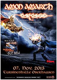 Preview : Melodic Death Metal vom Feinsten präsentieren AMON AMARTH auf ihrer Tour im Herbst