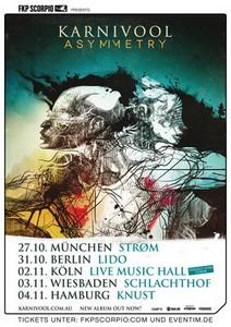 Preview : KARNIVOOL im Herbst auf Deutschlandtour