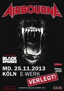 Preview : AIRBOURNE bringen Black Dog Baring nach Köln