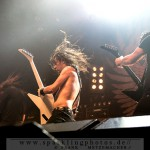 AIRBOURNE, BLACK SPIDERS & CORRODED - Köln, E-Werk (25.11.2013)