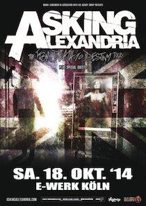 Preview : Die großartigen ASKING ALEXANDRIA kommen im Oktober auf Tour