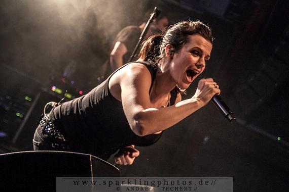 DIE HAPPY & PARKA - Köln, Live Music Hall (26.03.2014)