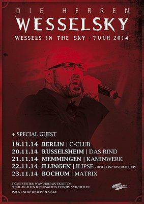 Alex Wesselsky (EISBRECHER) ist DIE HERREN WESSELSKY - Im November live on Tour