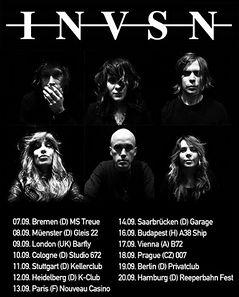 Preview : INVSN mit PAPER BEAT SCISSORS gemeinsam auf Tour