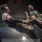 SKILLET & SPRING UP FALL DOWN - Köln, Essigfabrik (21.10.2014)